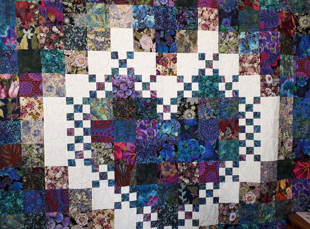 Quilt made by Pat Mostert
